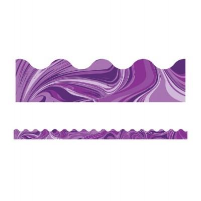Collection Galaxy : Bordure - Violet Marbré