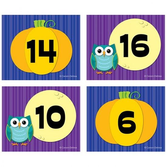 Dates pour Calendrier : Citrouille et Lune
