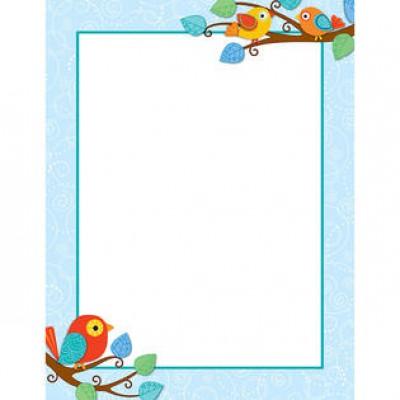 Affiche : Oiseaux Boho
