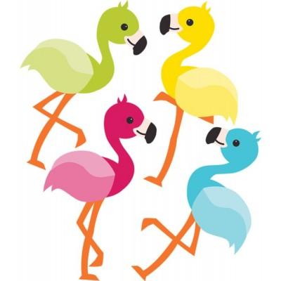 Collection School Pop - Décoration : Flamingo