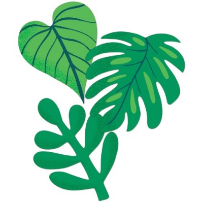 Collection One World - Décoration : Feuilles Tropicales