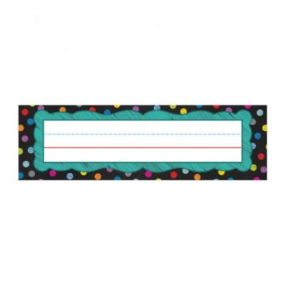 Cartes de Noms : Tableaux Colorés