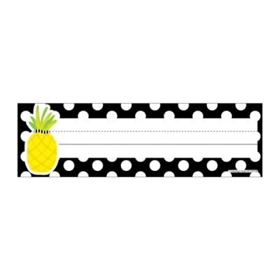 Collection Schoolgirl Style - Cartes de Noms : Ananas