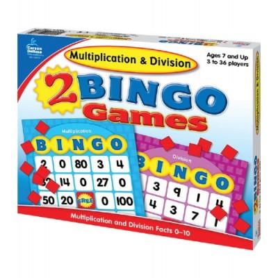 Bingo des Multiplications et des Divisions