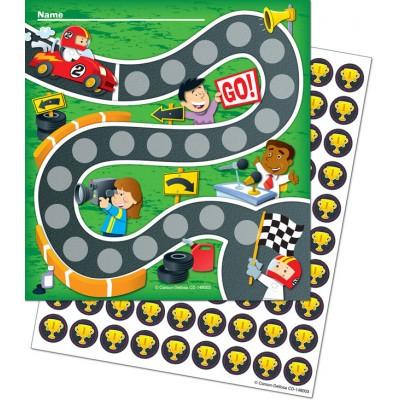 Cartes de Motivation : Course Automobile