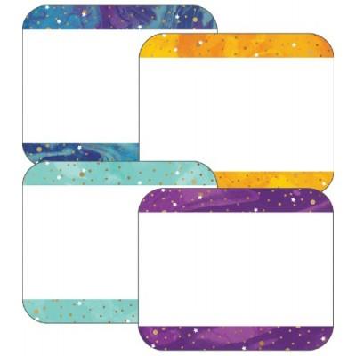 Collection Galaxy : Étiquettes de  Nom Autocollantes - Galaxy