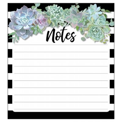 Collection Schoolgirl Style - Bloc-Notes : Simply Stylish Plantes Succulents