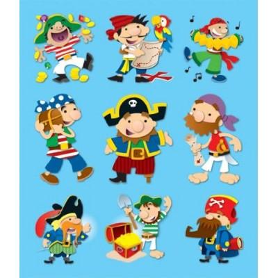 Autocollants : Pirates
