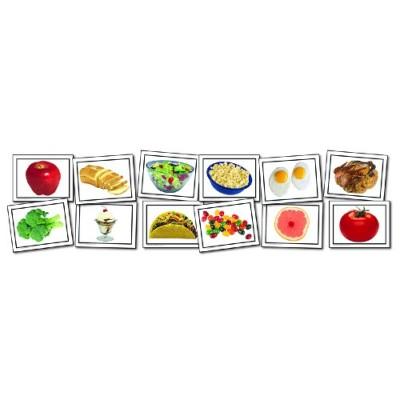 Cartes Éclairs : Aliments