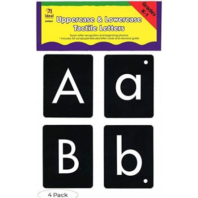 Cartes d'Alphabet Tactile / Majuscule et Minuscule