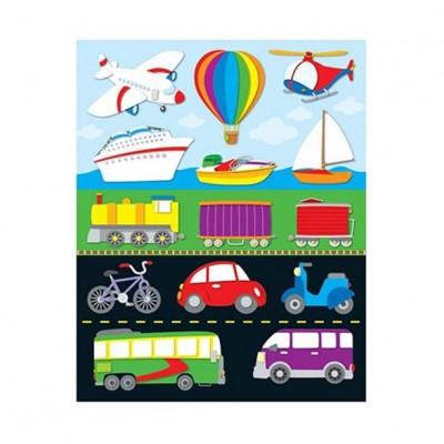 Autocollants : Transports/84