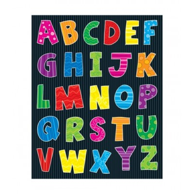 Autocollants : Alphabet/156