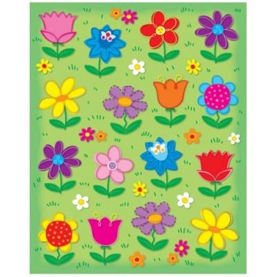 Autocollants : Fleurs/96