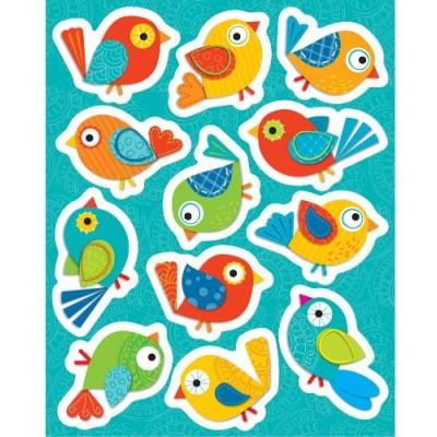 Autocollants : Oiseaux Boho/72