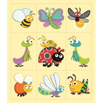Autocollants : Insectes