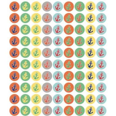 Collection Découverte - Autocollants : Mini Ancres/810