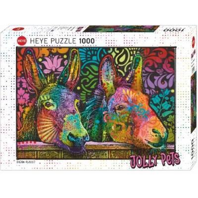Casse-Tête / 1000 mcx : Jolly Pets - Donkey Love