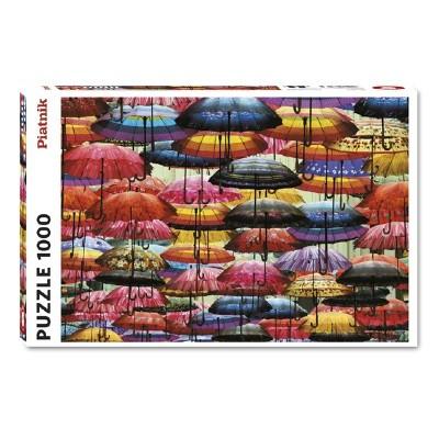 Casse-Tête /  1000 mcx : Parapluies Multicolores