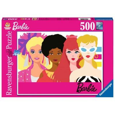 Casse-Tête / 500 mcx : Barbie - 60 ème Anniversaire