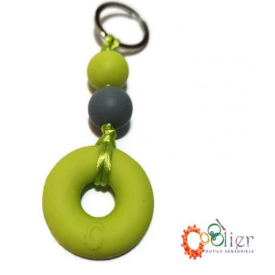 Mâchouille collier : petit anneau pour zip