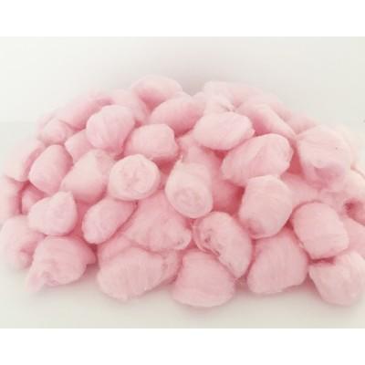 Boules d'ouate - Rose /200 pièces