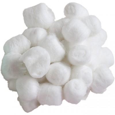 Boules d'ouate - Blanc /100 pièces