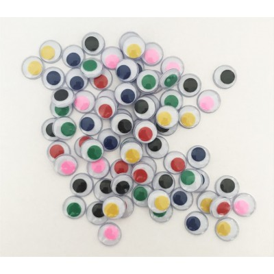 Yeux Mobiles Couleurs 12mm /100