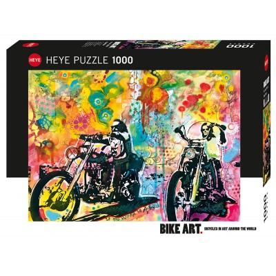 Casse-Tête/1000 mcx : Bike Art - Easy Rider