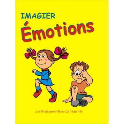 Livre: Imagier des émotions