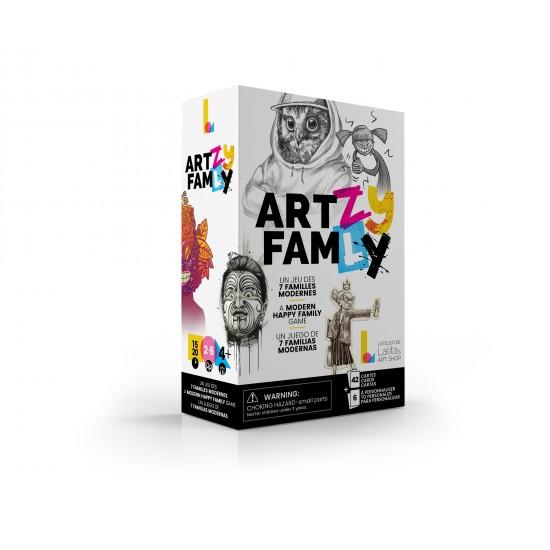 7 familles modernes: art-zy fam-ly