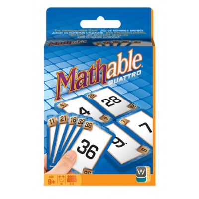 Mathable quattro (jeu de carte)