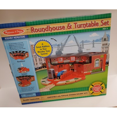 Extension pour Ensemble de Train : Maison Ronde et Table Tournante