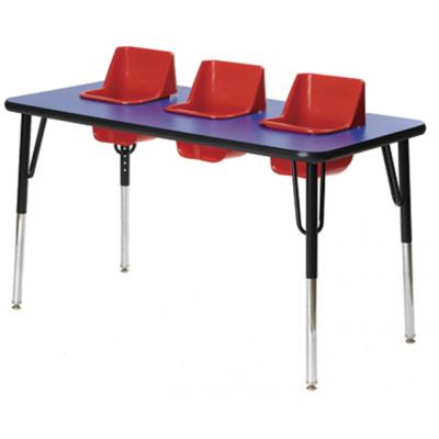 Table à trois sièges