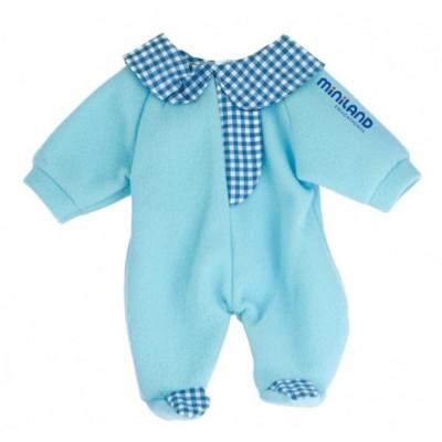 Vêtement pour Poupées : Pyjama Bleu