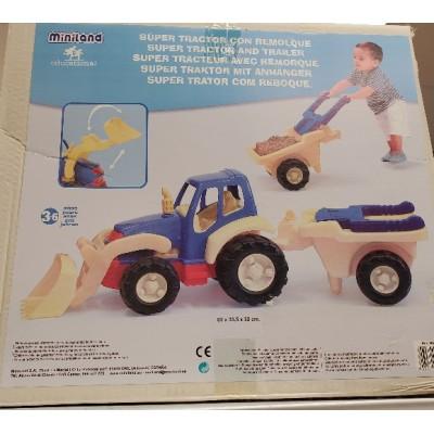 Tracteur et Remorque Géant