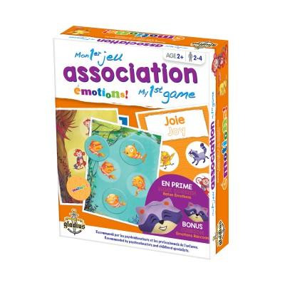 Mon 1er jeu d'association : Émotions