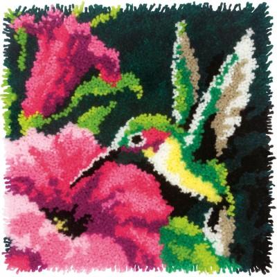 Crochet - Oiseau Mouche 41x41cm