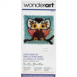 Crochet - Hibou 30x30cm