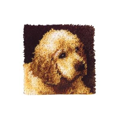 Crochet - Chiot 30x30cm