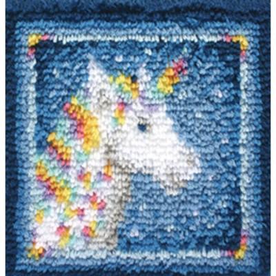 Crochet - Licorne 30x30cm