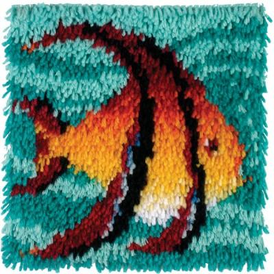Crochet - Poisson-Ange 30x30cm