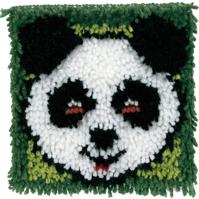 Crochet - Panda 20x20cm