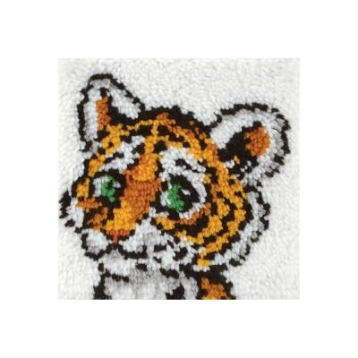 Crochet - Bébé Tigre 30x30cm