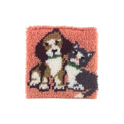 Crochet - Meilleurs Amis 30x30cm