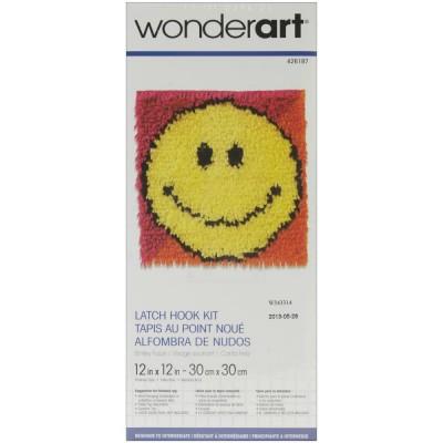 Crochet - Visage Souriant 30x30cm