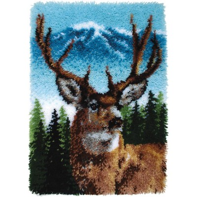Crochet - Cerf - 51x76cm