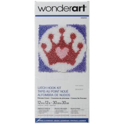 Crochet - Couronne de Princesse 30x30cm