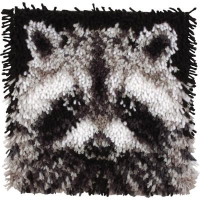 Crochet - Raton Laveur 30x30cm