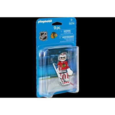 Playmobil - LNH Gardien de But Chicago Blackhawks #5074