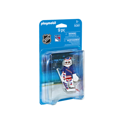 Playmobil - LNH Gardien de But New York Rangers #5081